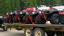 Loading And Unloading An ATV